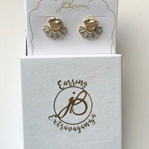 jBloom Jewelry - jBloom Egyptian style gold earrings